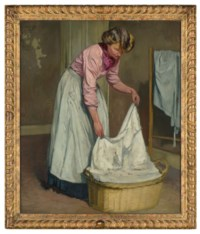 A laundry girl