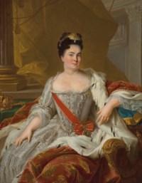 Portrait of Catherine I (1684-1727)