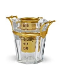 A BACCARAT GLASS WINE-COOLER