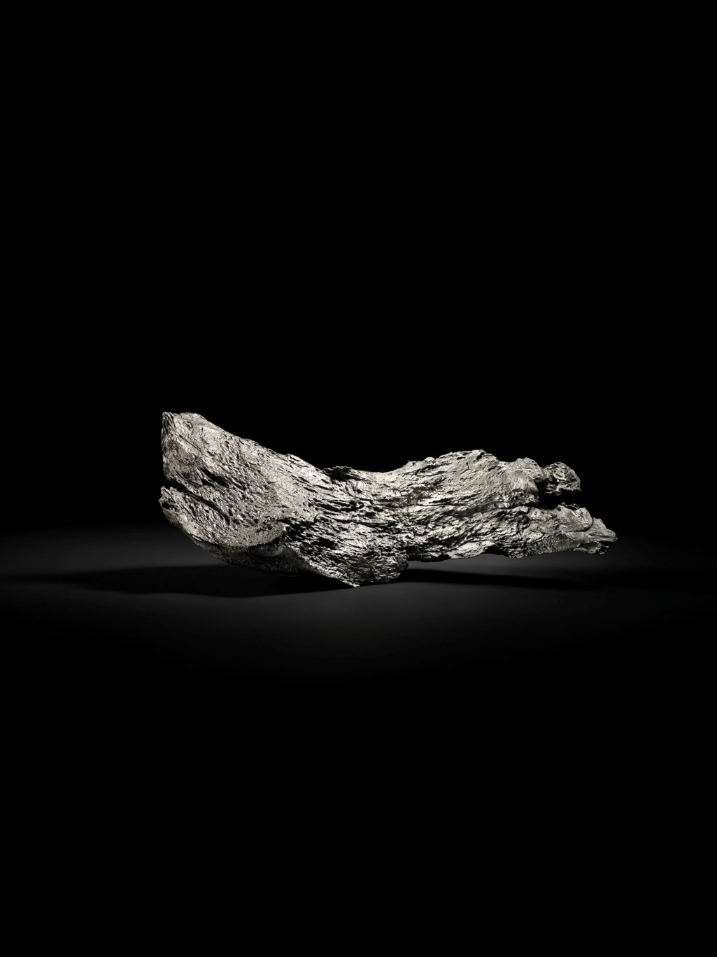 A DRONINO METEORITE — EXTRATERRESTRIAL ZOOMORPHIC TABLETOP SCULPTURE