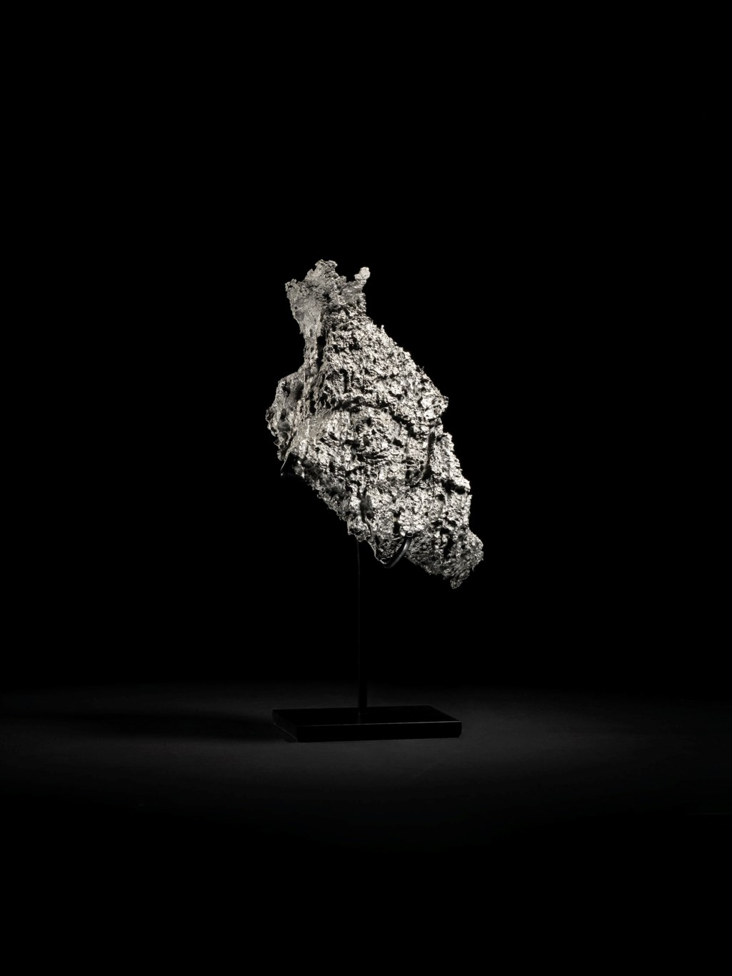 A DRONINO METEORITE - ABSTRACT FIGURE FROM OUTER SPACE