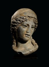 A MONUMENTAL ROMAN GREY MARBLE