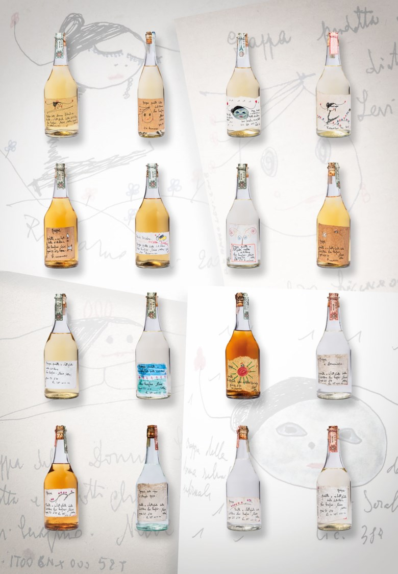Rarest Romano Levi Grappa 1981-2008. 16 bottles per lot. Sold for £3,920 inFinest and Rarest Wines and Spirits, Featuring Three Superb Private Collections on 10-11 December 2020 at Christie's in London