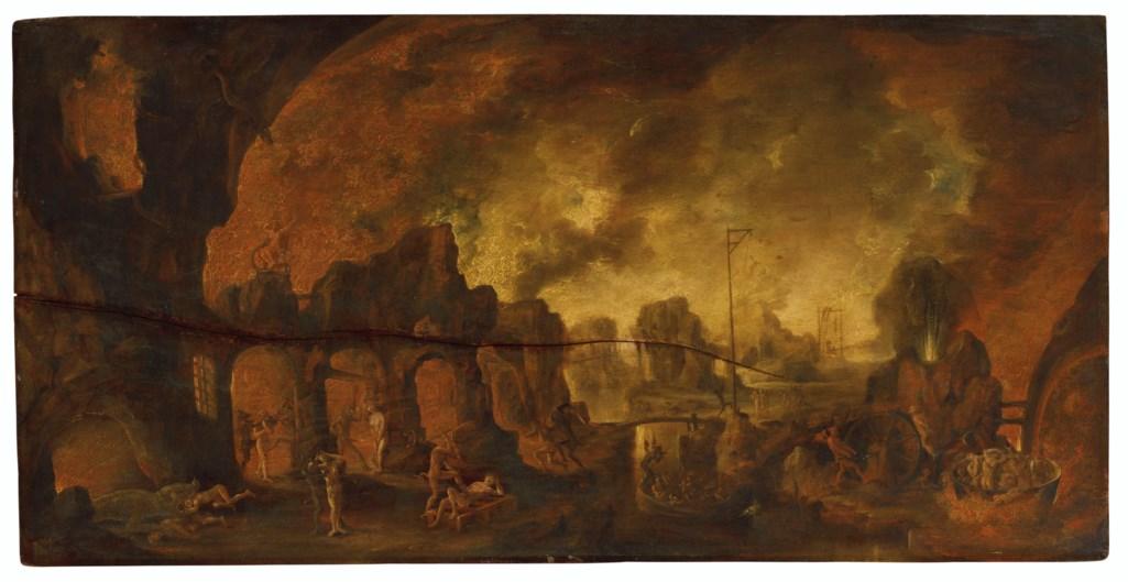 CIRCLE OF JACOB ISAACSZ. VAN SWANENBURG (LEIDEN 1571-1638 UTRECHT)