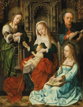 Master of the Plump-Cheeked Madonnas  (active Bruges, first