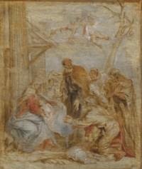 The Adoration of the Shepherds - a bozzetto