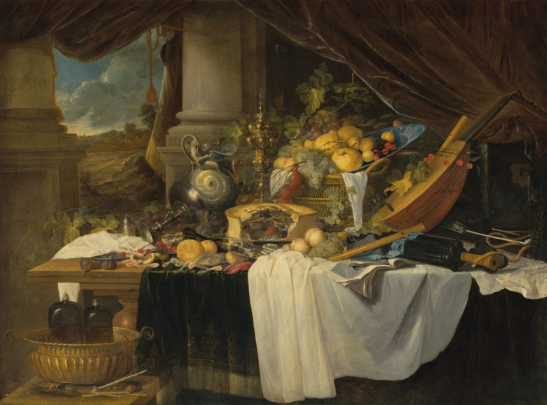 Jan Davidsz. de Heem (1606-1684), A Banquet Still Life, circa 1643. Oil on canvas. 61 x 83⅛ in (155 x 211 cm). Estimate £4,000,000-6,000,000. Offered in the Old Masters Evening Sale on 15 December 2020 at Christie's in London