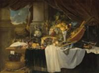 A banquet still life