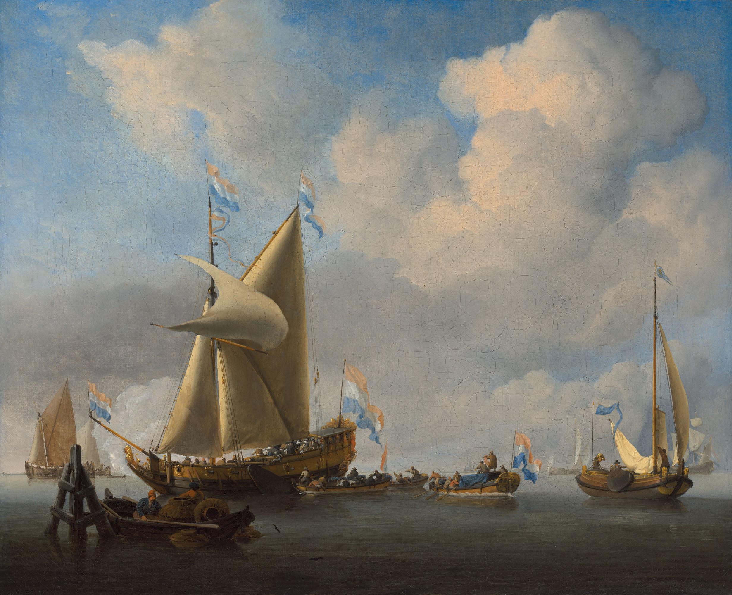 WILLEM VAN DE VELDE, THE YOUNGER (LEIDEN 1633-1707 LONDON)