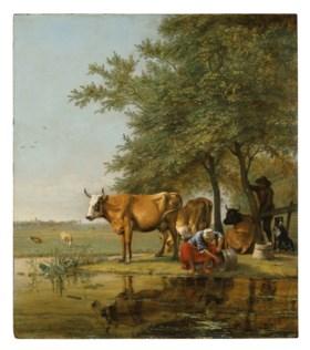 PAULUS POTTER  (ENKHUIZEN 1625-1654 AMSTERDAM)