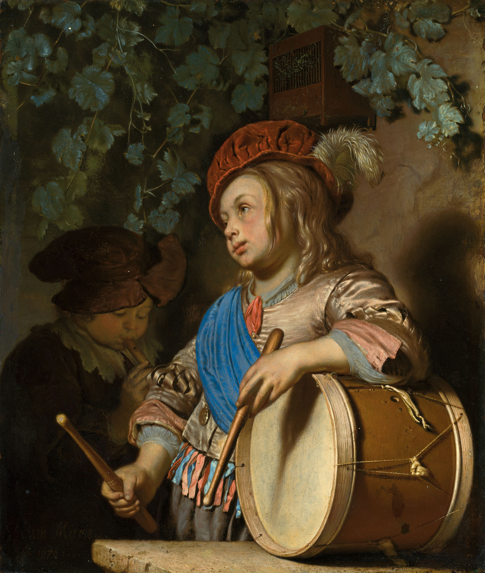 FRANS VAN MIERIS, THE ELDER (LEIDEN 1631-1685)
