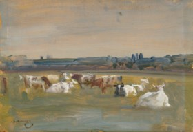 SIR ALFRED JAMES MUNNINGS, P.R.A., R.W.S. (BRITISH, 1878-195