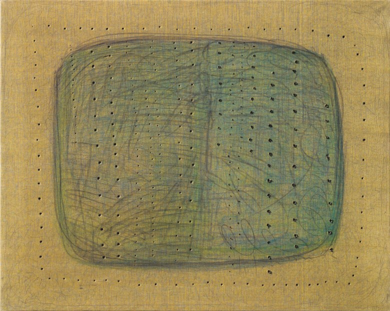 Lucio Fontana (1899-1968), [Concetto spaziale], 1958. Pencil on canvas. 39⅜ x 49¼ in (100 x 125 cm). Estimate £700,000-1,000,000. Offered in Thinking Italian Art and Design Evening Sale on 22 October 2020 at Christie's in London