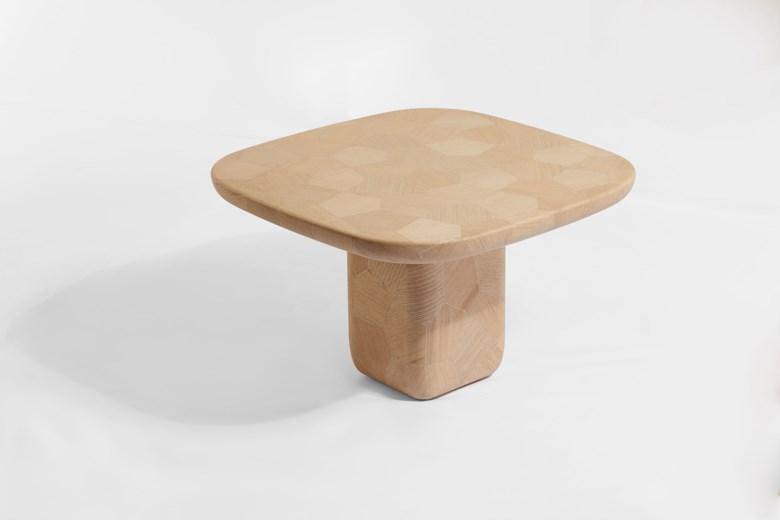 Nada Debs (Lebanese, b. 1962), Imprint Dining Table, 2019. 29½ x 47¼ x 47¼ in (75 x 120 x 120 cm). Estimate £15,000-20,000. Offered in Middle Eastern, Modern and Contemporary Art, 11-24 November 2020, Online