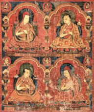 AN IMPORTANT THANGKA DEPICTING