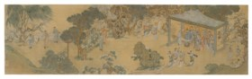 WITH SIGNATURE OF QIU YING (17-18TH CENTURY)