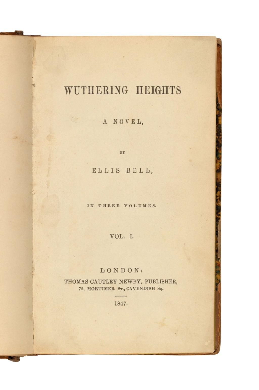 Emily Brontë (1818-1848)