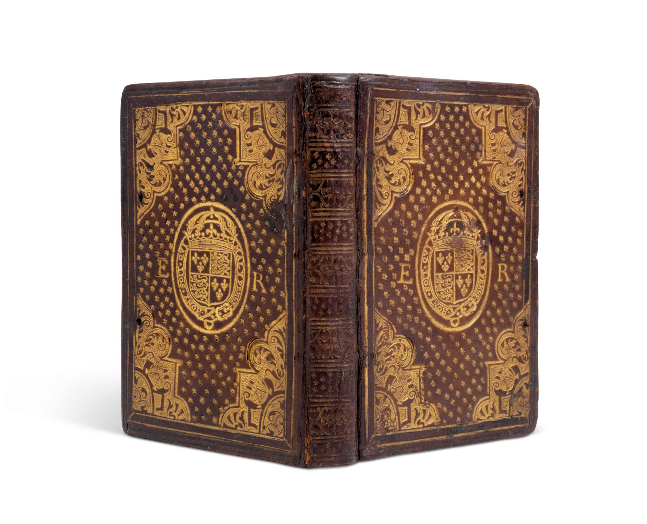 Elizabeth I bookbinding