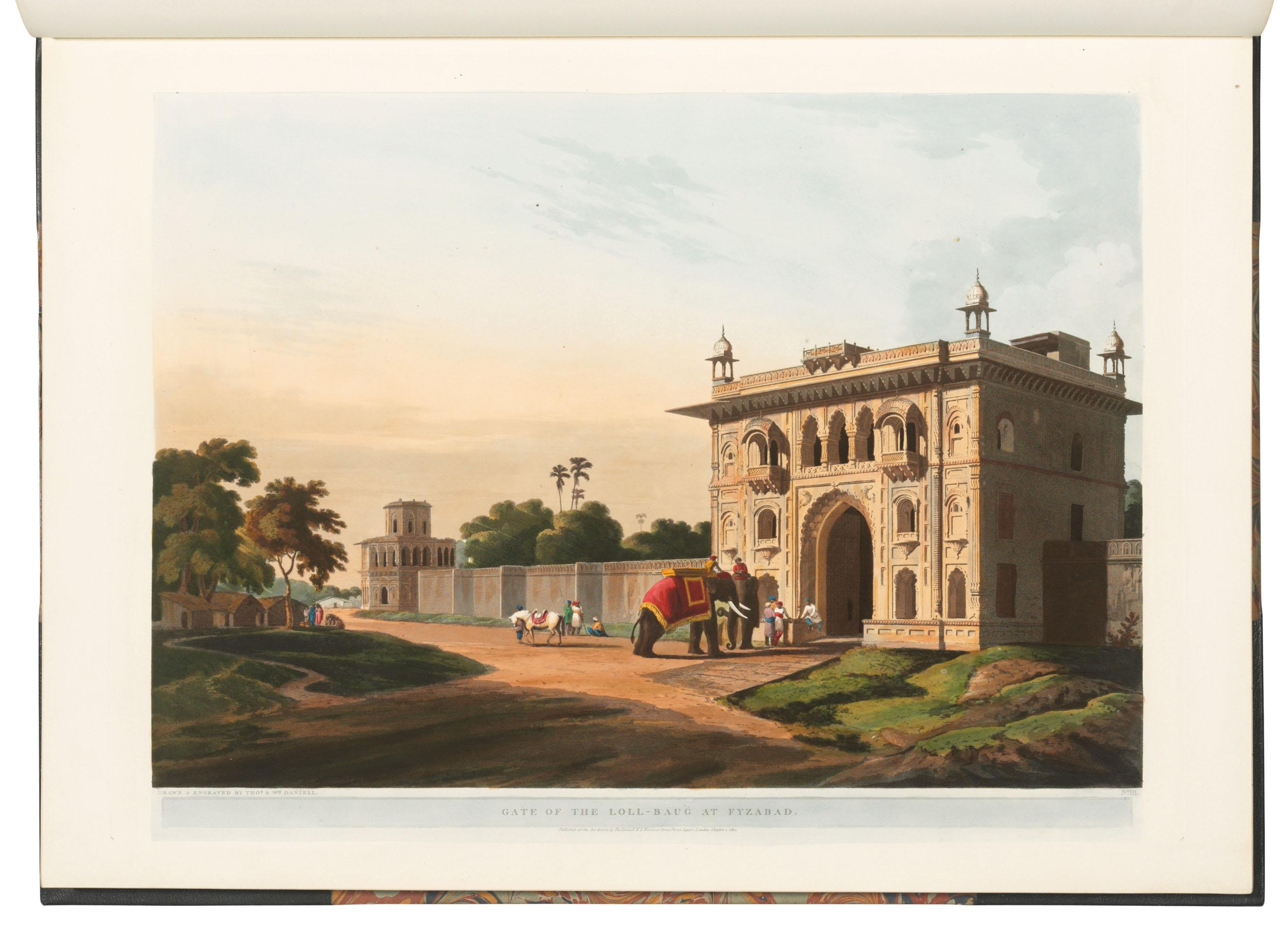 Thomas (1749-1840) and William DANIELL (1769-1837).