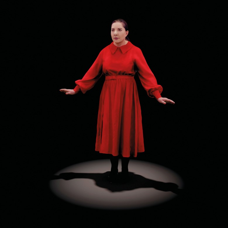 Marina Abramović (b. 1946), The Life, 2018-2019. Sold for £287,500 on 22 October 2020 at Christie's in London. © Marina Abramović. Courtesy of the Marina Abramović Archives DACS 2020