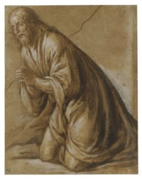Study for Christ in the Agony in the Garden
