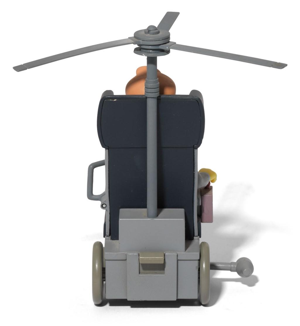 Stephen Hawking's personal Simpsons figurine