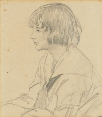 Dame Laura Knight, R.A. (Long