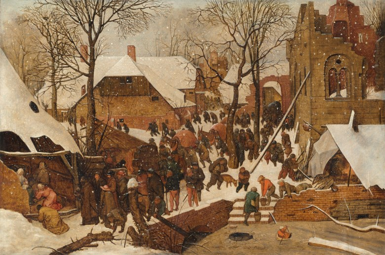 Pieter Brueghel, the Younger (Brussels 15641565-16371638 Antwerp), The Adoration of the Magi. Oil on panel. 15¼ x 22⅞in (38.7 x 58.3 cm). Estimate £200,000-300,000. Offered in  Remastered Contemporary Art and Old Masters, 21-30 July 2020, Online