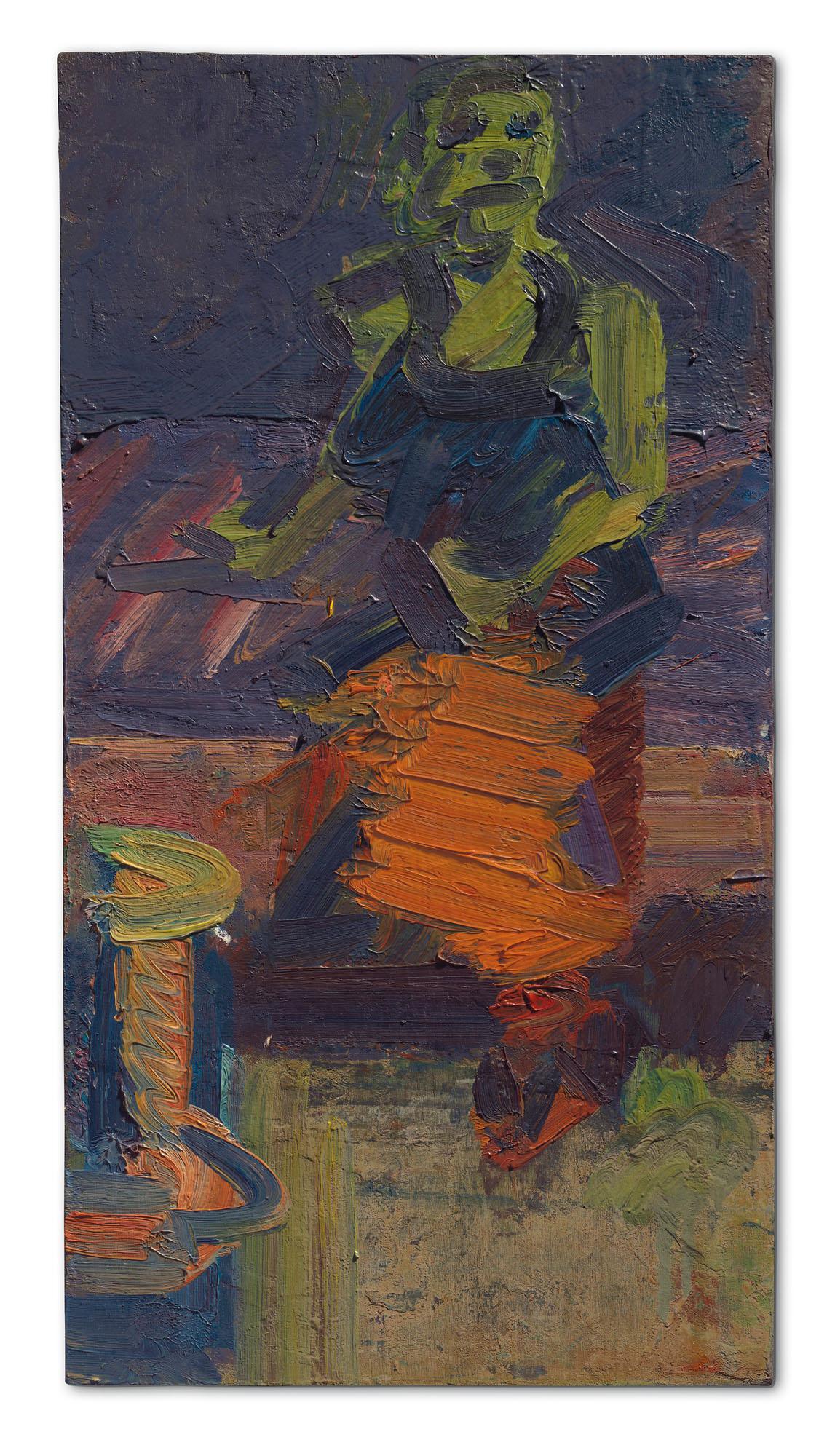Frank Auerbach Landscapes and Portraits auf artnet