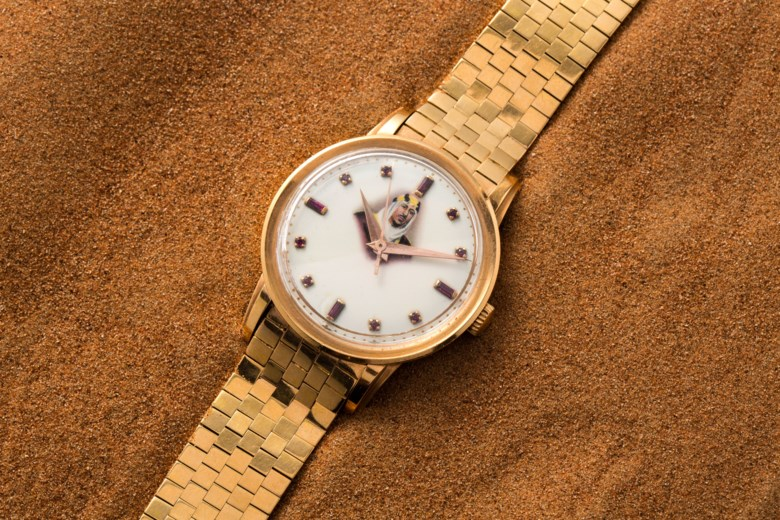 Patek Philippe, pink gold and rubies, ref. 2481 - made in homage of King Saud bin Abdulaziz al Saud. Estimate $40,000-60,000. Offered in  Watches Online Dubai Edit, 15-29 October 2020, Online