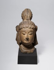 AN EXCEPTIONAL SANDSTONE HEAD