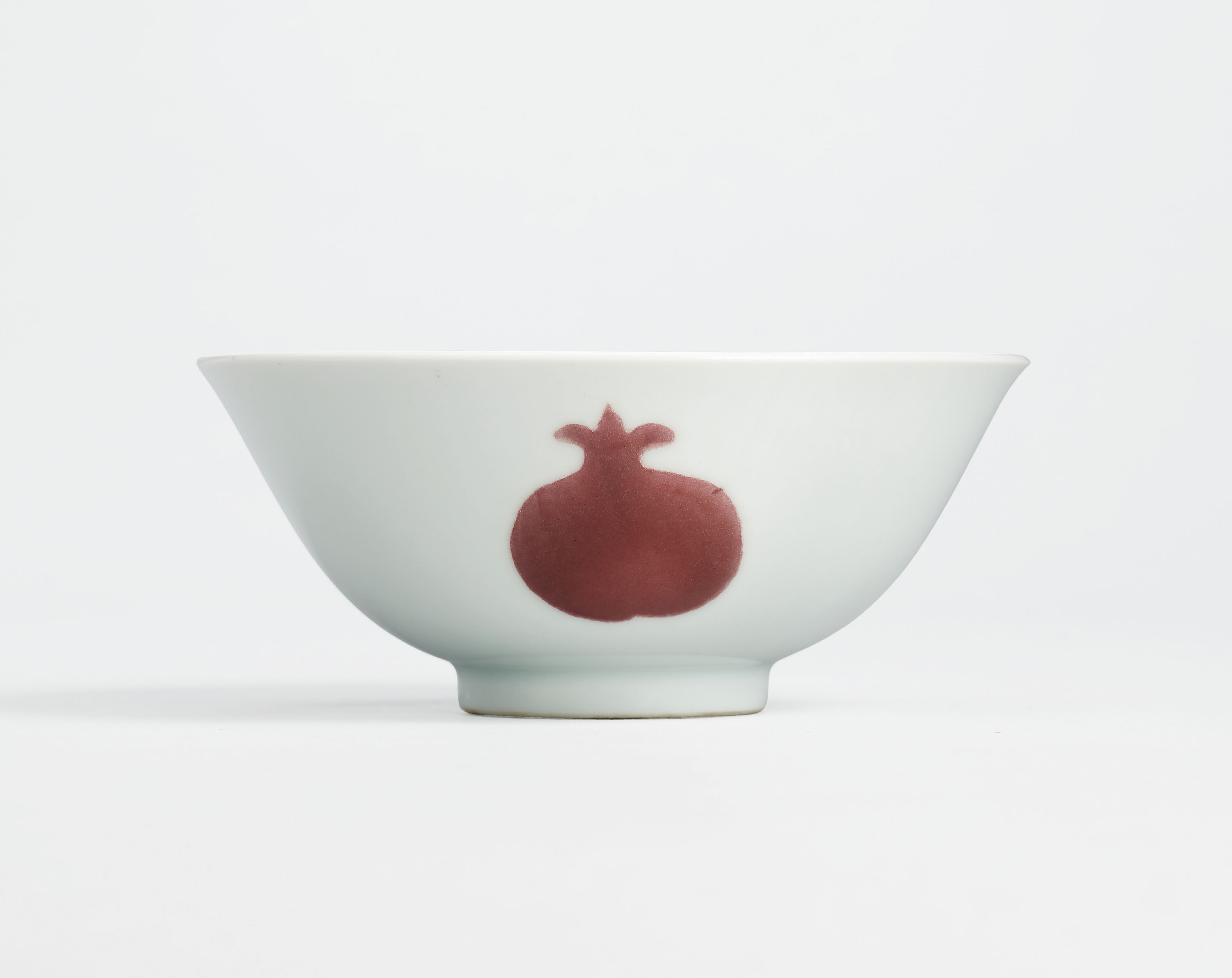 A COPPER-RED DECORATED 'SANDUO' BOWL