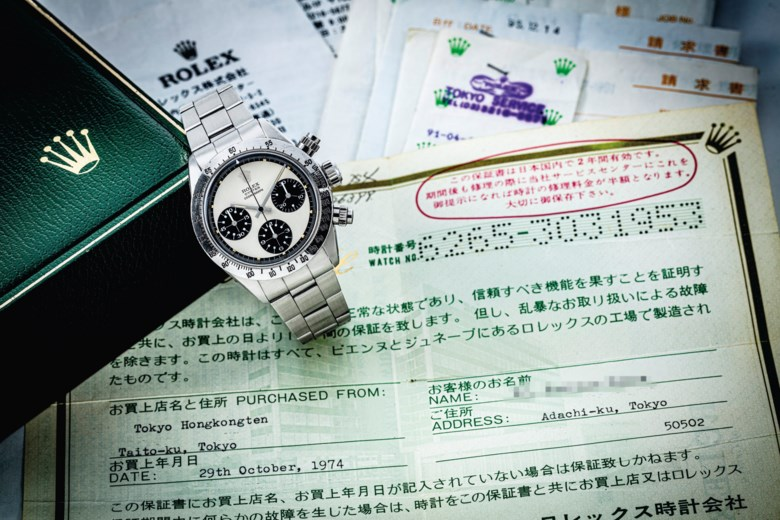 Rolex. An exceptional stainless-steel chronograph wristwatch with bracelet and mk2 'Paul Newman Panda' dial, circa 1972. Estimate HK$3,600,000-5,000,000. Offered in Important Watches, including The Titanium Collection and an Important Private Asian Collection Part 3 on 13 July 2020 at Christie's in Hong Kong