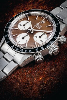 ROLEX A ONE-OF-A-KIND AND HIGHLY ATTRACTIVE STAINLESS STEEL