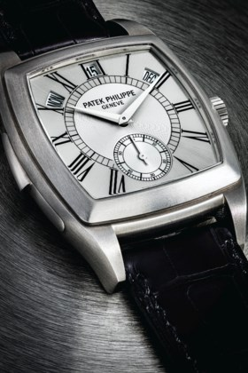 PATEK PHILIPPE A UNIQUE AND HIGHLY IMPORTANT TITANIUM AUTOMA
