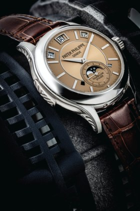 PATEK PHILIPPE A RARE PLATINUM MINUTE REPEATING INSTANTANEOU