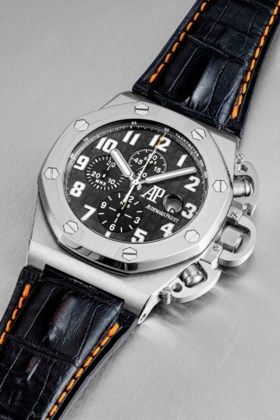 AUDEMARS PIGUET A TITANIUM LIMITED EDITION AUTOMATIC CHRONOG