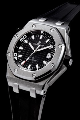 AUDEMARS PIGUET A STAINLESS STEEL LIMITED EDITION AUTOAMTIC