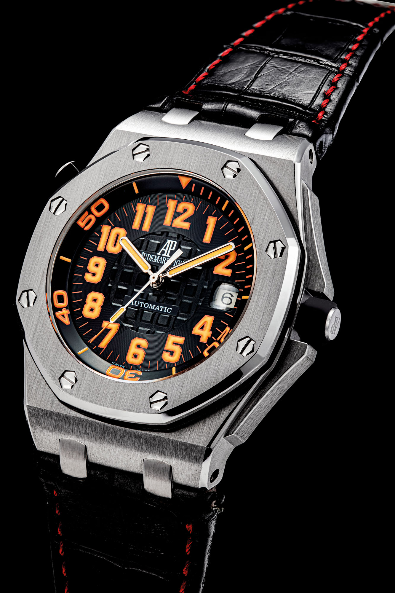 AUDEMARS PIGUET. A STAINLESS STEEL LIMITED EDITION AUTOMATIC WRISTWATCH WITH SWEEP CENTRE SECONDS AND DATE
