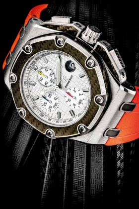 AUDEMARS PIGUET A TITANIUM AND CARBON LIMITED EDITION AUTOMA