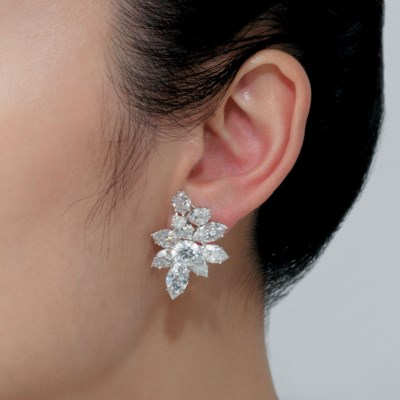 IMPORTANT DIAMOND EARRINGS, HA