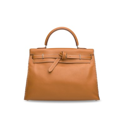 A GOLD EVERCOLOR LEATHER KELLY
