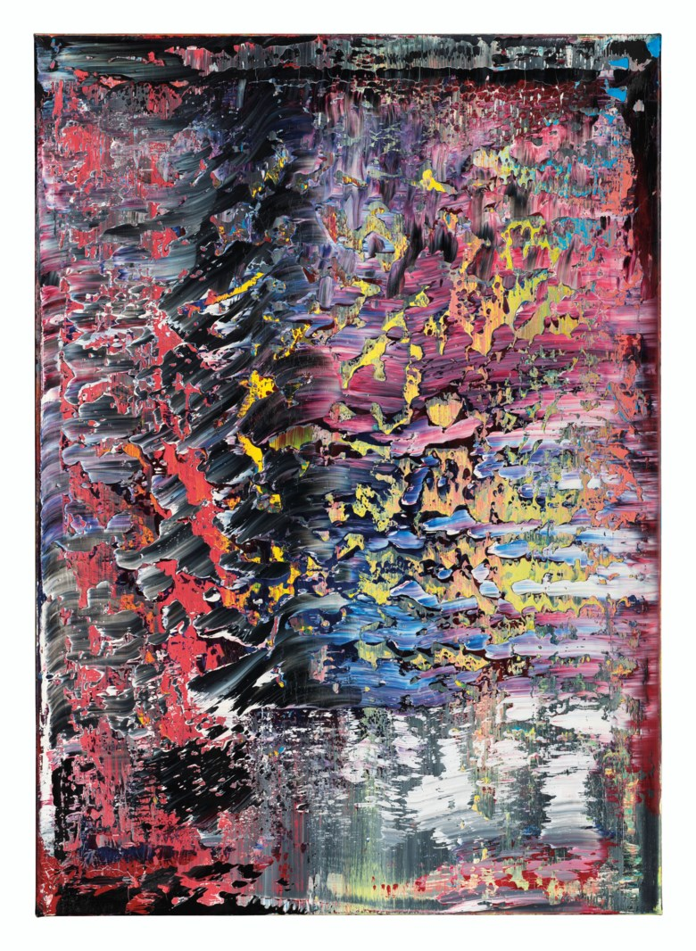 Gerhard Richter (b. 1932), Frost (1), 1989. Oil on canvas. 55⅛ x 39⅜  in (140 x 100  cm). Sold for HK$79,255,000 on 10 July 2020 at Christie's in Hong Kong. © Gerhard Richter 2020
