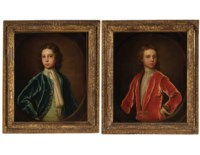 Two Portraits of Young Boys