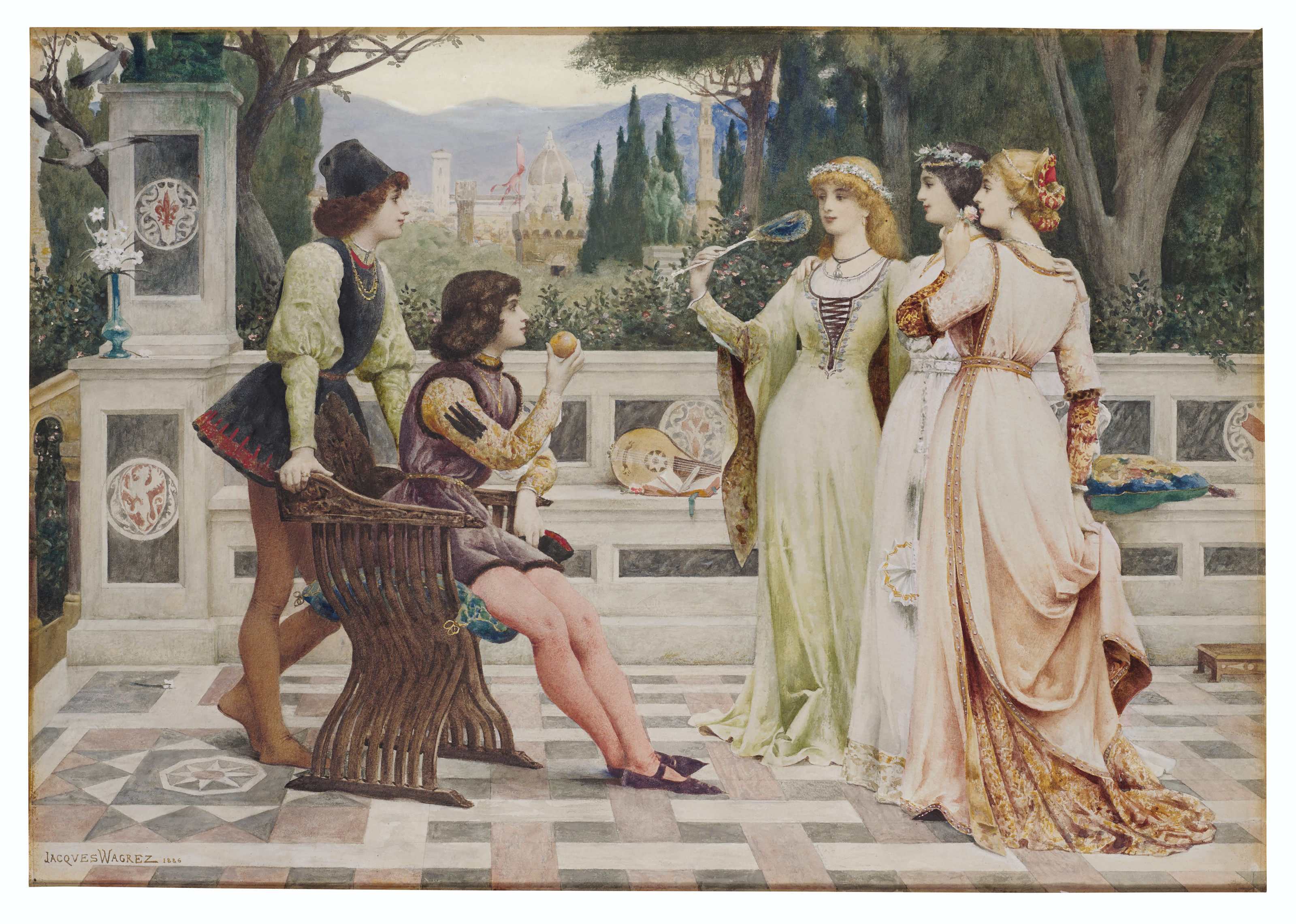 laclefdescoeurs: The Judgement of Paris, 1812, Guillaume