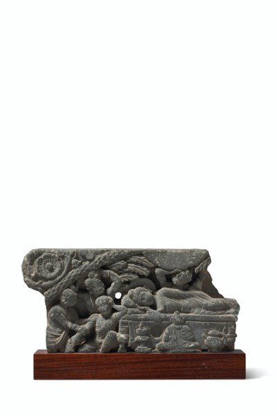 A GREEN SCHIST RELIEF DEPICTIN