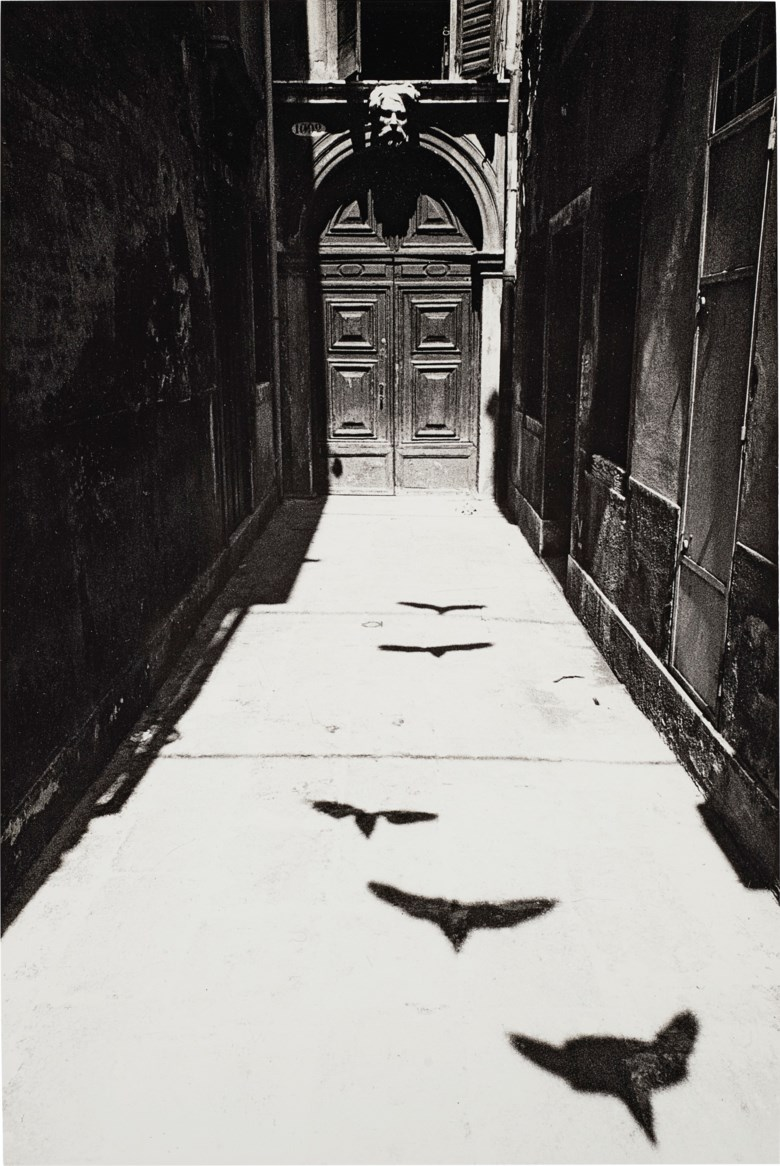 Ikko Narahara (1931–2020), Where Time Has Stopped, Venezia, 1964. Sheet 14 x 11  in (35.5 x 27.9  cm). Estimate $6,000-8,000. Offered in Photographs on 31 March 2020 at Christie's in New York