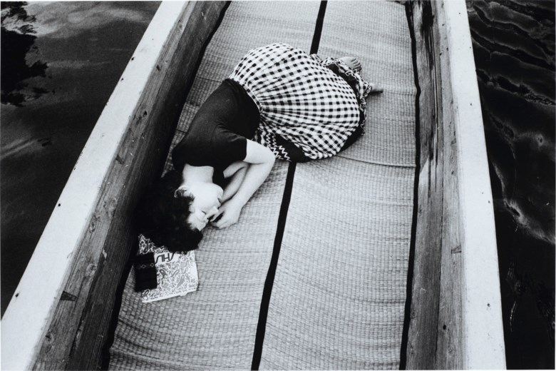 Nobuyoshi Araki (b. 1940), Untitled, from the series Sentimental Journey, 1971. Sheet 10 x 12  in (25.4 x 30.4  cm). Estimate $5,000-7,000. Offered in Photographs on 31 March 2020 at Christie's in New York