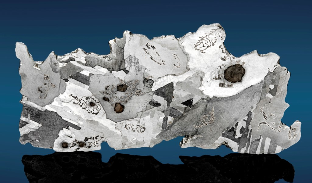 COMPLETE SLICE OF THE OLDEST METEORITE ON EARTH — LAKE MURRAY