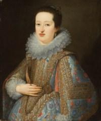 Portrait of Eleonora Gonzaga (1598-1655), half-length, as a bride